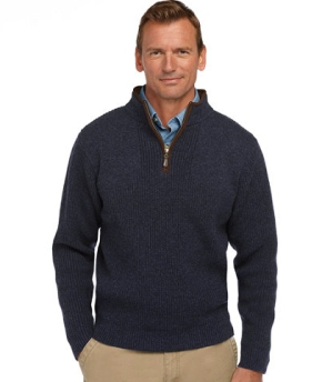 Outdoorsman - This ensemble from LL Bean gives a classic business casual look with a hint of ruggedness. Great for casual Fridays at the office or a night out with the wife.